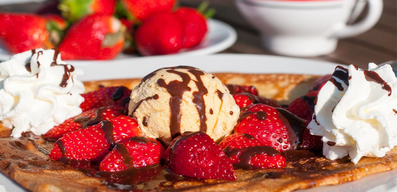 crepe fraises